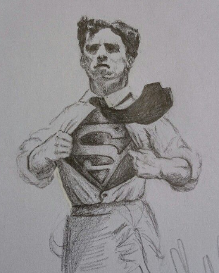 Charles Chaplin as Superman.png
